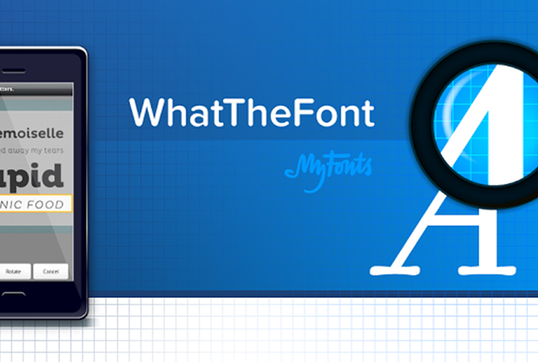 What The Font app